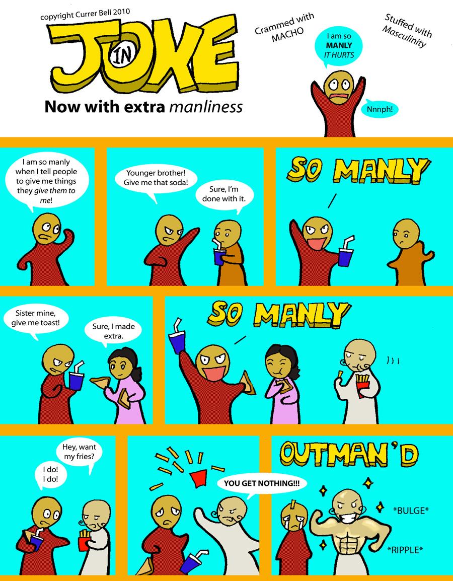 The In Joke 10: MANLY