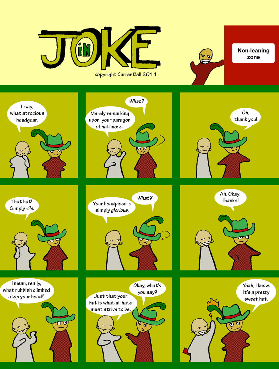 The In Joke 7: Hatliness
